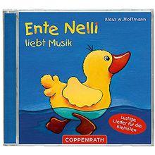 CD Ente Nelli liebt Musik - Lieder die Kleinsten Hörbuch  Kleinkinder