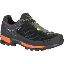 Salewa - MTN Trainer GTX Herren Bergschuh (schwarz/orange) - EU 45 - UK 10,5
