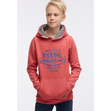Petrol Industries Sweater neonblau / grau / pastellrot / schwarz