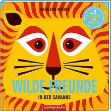 Buch - Wilde Freunde: In der Savanne, mit 5 Spielfiguren zum Basteln