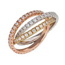 ESPRIT Ring Triple ESRG91885A gold Damen