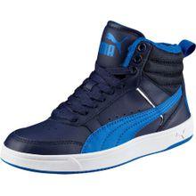 PUMA Sneaker 'Rebound Street' nachtblau / himmelblau / weiß