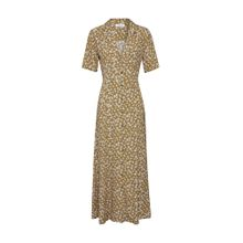 EDITED Kleid 'Bruna' camel / senf