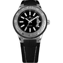 Jacques Lemans Uhr 'Miami 1-1770A' schwarz / silber