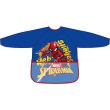 Malschürze mit Vortasche Spider-Man blau