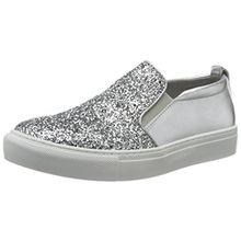 Tamaris Damen 24646 Slipper, Silber (Silver Glam 919), 40 EU