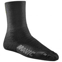 Mavic - Essential Thermo Sock - Radsocken Gr 35-38;39-42;43-46 schwarz;rot