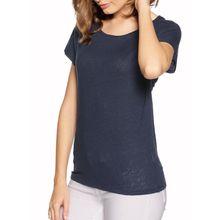 Benetton T-Shirt in blau für Damen