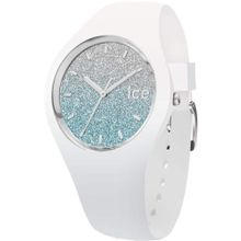 ICE WATCH Quarzuhr 'ICE lo - White blue - Small - 3H, 013425' silber / weiß