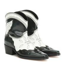 Ankle Boots Low Texas aus Leder