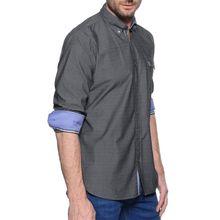 Milano Hemd Custom Fit in grau für Herren