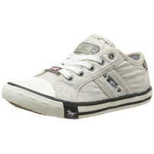 Mustang 5803-305-203, Unisex-Kinder Sneakers, Elfenbein (203 ice), 34 EU