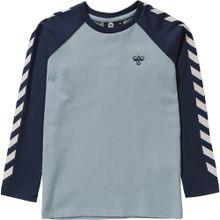 Hummel Shirt navy / rauchblau / weiß