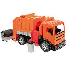 Starke Riesen Müllwagen, ca. 65 cm orange