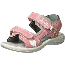 Lurchi Mädchen FIA Sandalen, Pink (Geranie), 27 EU