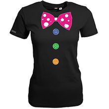 CLOWN KOSTÜM - DELUXE - Schwarz - WOMEN T-SHIRT by Jayess Gr. S
