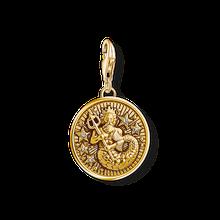 """Thomas Sabo Charm-Anhänger """"Sternzeichen Wassermann"""" gelbgoldfarben 1650-414-39"""