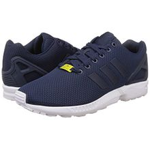 adidas ZX Flux, Unisex-Erwachsene Sneakers, Blau (New Navy/New Navy/Running White), 41 1/3 EU