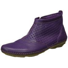 El Naturalista S.A N389 Soft Grain Torcal, Damen Kurzschaft Stiefel, Violett (Purple), 40 EU