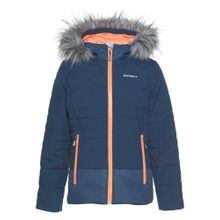 ICEPEAK Steppjacke blau / orange