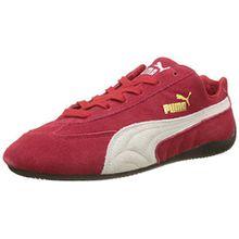 Puma Speed Cat Sparco,Unisex-Erwachsene Sneakers, Low-Top, Rot (Ribbon Red-White 01), 37 EU (4 UK)