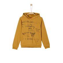 S.Oliver Junior Kapuzensweater braun