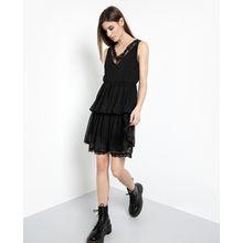 tigha Damen Kleider & Röcke Isabella schwarz (black)