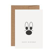 redfries big nose –Letterpress-Klappkarte DIN A6 mit Umschlag