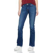 Wrangler Damen Jeanshose Bootcut Authentic Blue, Blau (Blue), W31/L34