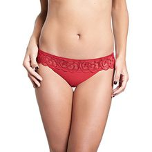 Chantelle DE Damen String Luxembourg, Rot (Candy Red Xj), 38