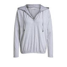 Baumwoll Sweatshirt mit Kapuze
