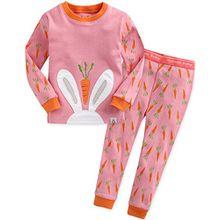 Vaenait Baby Kinder Maedchen Nachtwaesche Schlafanzug-Top Bottom 2 Stueck Set Secret Bunny M