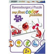my first Color Puzzle, 6 x 4 Teile, Alle meine Farben