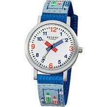 Kinder Armbanduhr Schule blau