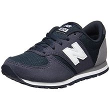 New Balance Unisex-Kinder Sneaker, Blau (Navy/Grey), 36 EU (3.5 UK)