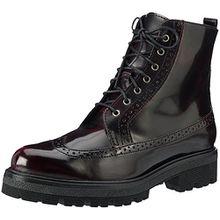 Tamaris Damen 25701 Combat Boots, Rot (Bordeaux), 38 EU