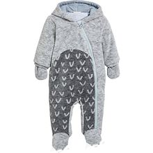 Baby Overall , Dino grau Jungen Baby