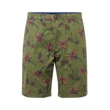 SCOTCH & SODA Shorts oliv / rot