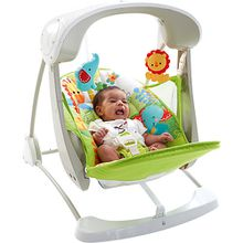 Fisher-Price 2-in-1 Babyschaukel kompakt
