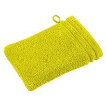 Vossen Waschhandschuh lemon Größe 16x22 cm