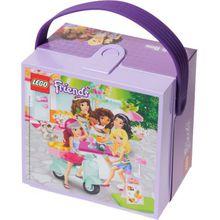 LEGO Brotdose mit Griff Friends, lila