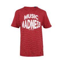 TOM TAILOR T-Shirt mit Streifen rot / weiß