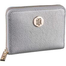 Tommy Hilfiger Geldbörse TH Core Compact ZA Wallet 6135 Pewter