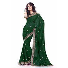 Indische Kleider Damen Sari mit Ungesteckt ungesehen Oberteil/bluse Mirchi Fashion Party indians saree kleidung
