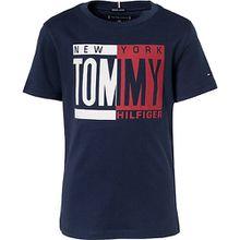 T-Shirt  dunkelblau Jungen Kinder