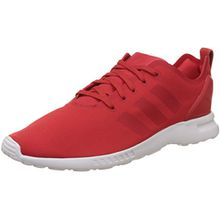 adidas Damen ZX Flux Smooth Sneaker, Rot (Lush Red S16-St/Lush Red S16-St/Core White), 37 1/3 EU