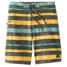 Prana - Fenton Boardshort - Boardshorts Gr 31;35 schwarz/grau;oliv/orange/schwarz