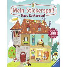 Buch - Mein Stickerspaß: Haus Kunterbunt