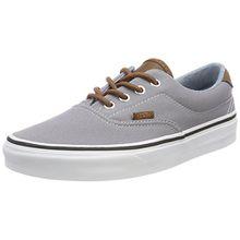 Vans Unisex-Erwachsene Era 59 Sneaker, Grau (C/Yellow), 45 EU