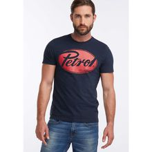 Petrol Industries MEN T-Shirt blau Herren
